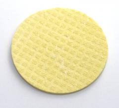 Schwammtuch D500 trocken Ø 90mm 1 Stück -gelb-