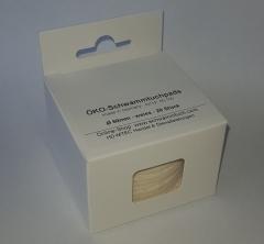 ÖKO-Reinigungspads Ø 60 mm weiss 20 Stück im Faltkarton