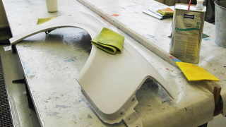 Schwammtuch für die industrielle und handwerkliche Lackierung