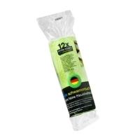 Schwammtuch-Haushaltsrolle 1x Rolle (Apfelgrün) Typ2 glatte Struktur
