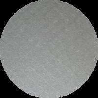 Schwammtuch-Untersetzer *grau* ca. 12cm Durchmesser
