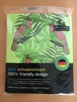 Designer-Schwammtuch (1x Pack mit 5 Stk.) -Tukan-